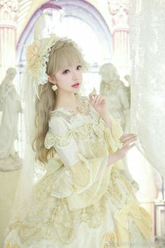 Cute Lolita style fashion for all the cuties girl fashion inspiration # Graceful Girl's Fashion party wear for young girls Harajuku Fashion, Kawaii Fashion, Lolita Fashion, Estilo Lolita, Girl Fashion Style, Cute Fashion, Rock Fashion, Emo Fashion, Fashion Women