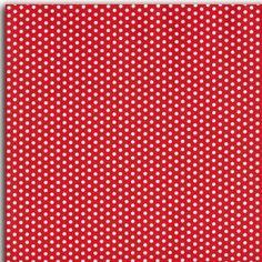 Tissu adhésif rouge gros pois blancs
