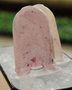 Blueberry Swirl Ice Pops Recipe