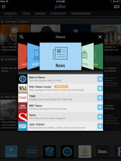 Pulse News for iPad: Your News, Blog, Magazine and Social Organizer  By Alphonso Labs Inc