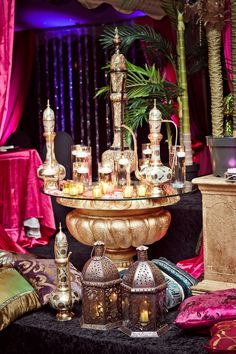 my Moroccan Themed Wedding Decor