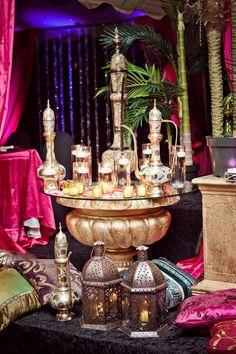 my Moroccan Themed Wedding Decor