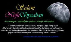HAMBALIABDULLAH_03: MALAM NISFU SYAABAN