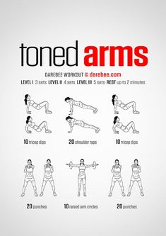 15 Super Easy Workouts To Tone Your Arms At Home -