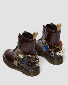 Dr. Martens, Dr Martens 1460, Marc Jacobs, Combat Boots, Ankle Boots, Custom Painted Shoes, Aesthetic Shoes, Lace Up Boots, Cute Shoes