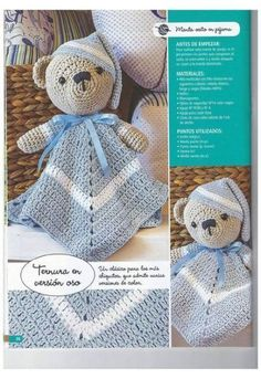 29 Trendy Crochet Bebe Mantas De Apego Knitting TechniquesCrochet For BeginnersCrochet BlanketCrochet Ideas Crochet Security Blanket, Crochet Lovey, Crochet Amigurumi, Crochet Bunny, Baby Blanket Crochet, Amigurumi Patterns, Crochet Dolls, Crochet For Kids, Crochet Patterns