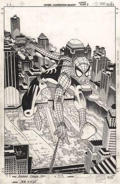 Comic Art, Drawings, Artist, John Romita Jr, Spiderman Art, Cartoon, Cartoons Comics, Romita, Jr Art