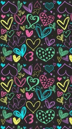 Imagen de wallpaper, colorful, and heart