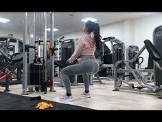 Rutina de ejercicios para glúteos y piernas sin pesas - YouTube