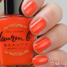 "Are you searching for a bold bright summer shade? Look no further ! Lauren B ""the OC"""