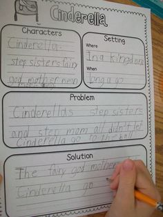 Sarah's First Grade Snippets: Fairy Tales: comparing and summarizing
