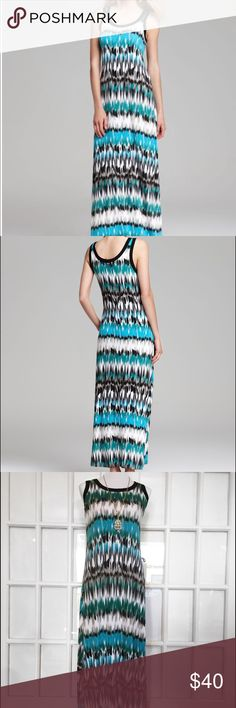 Karen Kane Pacific Maxi Dress Perfectly comfortable and stylish, this multi colored Maxi is made for warm summer days! ☀️ Cotton/Rayon/Spandex Blend Machine Wash Hang Dry Karen Kane Dresses Maxi