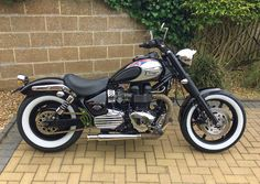 Well its 98% finished now - Triumph Forum: Triumph Rat Motorcycle Forums