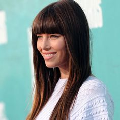 inspiration to keep truckin' with mah bangs