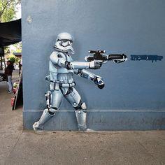 #streetart #MexicoCity #cdmx #starwars #trooper #starwarsart