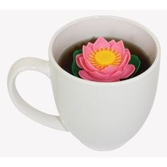 lilytea - floating lily tea infuser