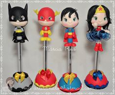 Food Crafts, Clay Crafts, Arts And Crafts, Comic Party, Clay Pen, Avenger Cake, Clay People, Clay Mugs, Harry Potter Diy