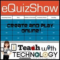 Create a Jeopardy Style Review Game Online with eQuizShow or Jeopardy.Rocks