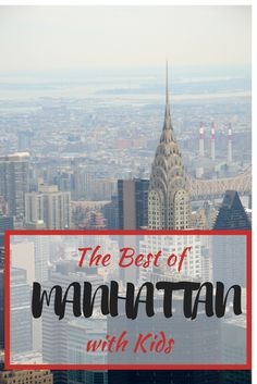 New York City is a very big city! That's why this post covers the best things to do with kids in Manhattan. From Broadway to museums to parks to amazing skyscraper views, the Big Apple offers so much for family travel. Here are our top picks.