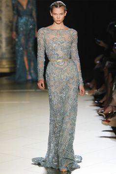 Elie Saab Fall 2012 Couture | Tom & Lorenzo