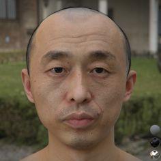 ArtStation - Realistic human head study 02, hang li