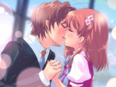 Happy Kiss Day Animated Wallpaper