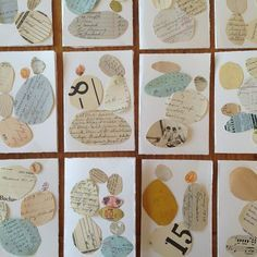 #collage #cards #vintage #balance