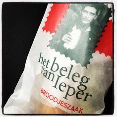 Where #copywriters buy lunch #hetbelegvanieper #broodjes #ieper #smakelijk #ondernemendemadammen