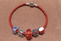Loving the new leather bracelets from PANDORA!