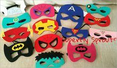 superhero mask kit
