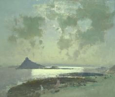 Fred Cuming RA: Early Evening St.Michaels Mount
