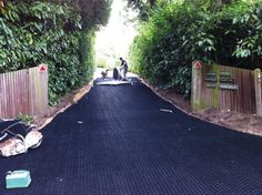 CORE Drive is a gravel stabilisation, grid for paths, patios, walkways, cycle tracks, disabled access, driveways, roads, car parks, bridleways and stables and is truly suds compliant Driveways, Walkways, Gravel Driveway, Driveway Ideas, Car Parks, Building Materials, Property Management, Stables, Home Projects