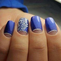 Try some of these designs and give your nails a quick makeover, gallery of unique nail art designs for any season. Nail Art Arabesque, Gel Nails, Acrylic Nails, Nail Nail, Nail Polish, Romantic Nails, Gel Nagel Design, Transparent Nails, Dream Nails