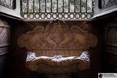 Pia da sacristia da Igreja da Candelária - The sink of sacristy of the Candelaria Church.