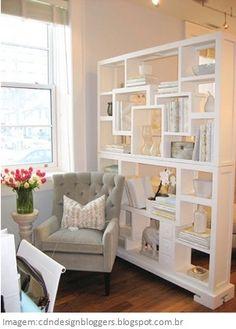 07 Ideias para dividir ambientes com estantes   www.ohdecasaa.com