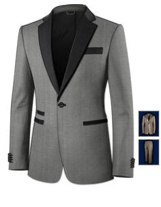 Black Suit For Men Wedding