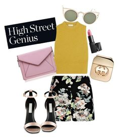 """""""31.01.2016"""" by www-le-ne ❤ liked on Polyvore featuring Boohoo, Gucci, NARS Cosmetics, Chloé, Betsey Johnson, Rebecca Minkoff and STELLA McCARTNEY"""
