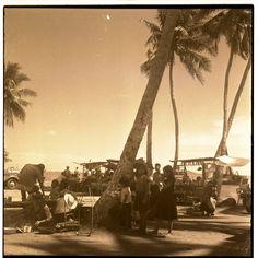 Kep Beach [1950s], #Cambodia | © unknown
