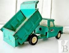 vintage 1950' toys trucks