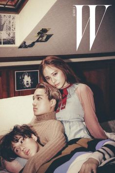 A new pictorial featuring SHINee's Taemin, EXO's Kai, and f(x)'s Krystal has been released!