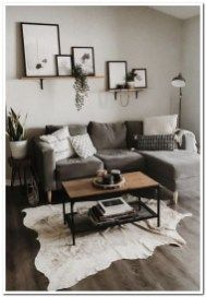 20 Stylish Small Living Room Decor Ideas On A Budget. Cool 20 Stylish Small Living Room Decor Ideas On A Budget. Using these four designer secrets and small living room decorating ideas can make all the difference between feeling cozy or […] Living Room Modern, Living Room Interior, Home And Living, Gray Couch Living Room, Apartment Living Rooms, Small Living Room Designs, Small Living Room Ideas On A Budget, Living Room Wall Ideas, Simple Living Room Decor