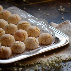 Here is a bakery style Italian amaretti recipe for the classic Italian cookie. A simple, gluten free recipe for these Soft Amaretti Cookies.
