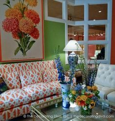 CR Laine: Spotted 2013 High Point Market by Carmen Natschke Living Room Nook, Living Room Furniture, Living Rooms, Front Door Planters, Tropical Interior, High Point Market, Interior Design Inspiration, Design Ideas, Model Homes