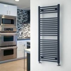 Perfect for a small bathroom this high quality x curved heated towel warmer features an eye-catching anthracite finish for an ultra-modern look. Made from mild steel for long lasting durability this anthracite heated towel warmer ensures of a Budget Bathroom, Bathroom Renovations, Small Bathroom, Bathrooms, Bathroom Ideas, Curved Radiators, Bathroom Towel Rails, Towel Radiator, Window Types