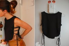 9 Hacks For Making Your Outdated Clothes Trendy Again 9 Hacks For Ma. 9 Hacks For Making Your Outdated Clothes Trendy Again 9 Hacks For Making Your Outdated Clothes Trendy Again SHESAID United States Fashion Sewing, Diy Fashion, Fashion Outfits, Fashion Tips, Fashion Hacks, Carrie Bradshaw, Diy Clothes Refashion, Thrift Store Refashion, Refashion Dress