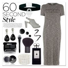 """""""60-Second Style: The T-Shirt Dress #2"""" by eternal-collection ❤ liked on Polyvore featuring River Island, Astoria, Jo Malone, Marc Jacobs and Topshop"""