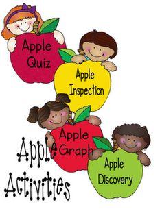Second Grade Apple Activities