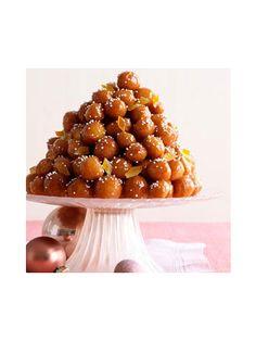 Neapolitan Honey Balls - WomansDay.com