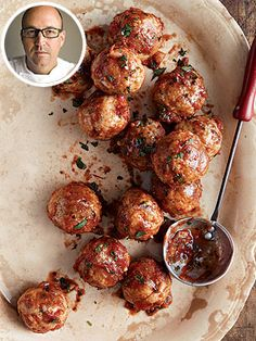 Spicy Chicken Meatballs As Seen in PEOPLE