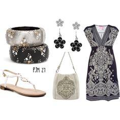 dress it up or dress it down...love the bracelets, too!